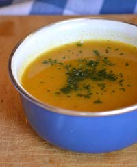 Pumpkin Soup Lightly Spiced